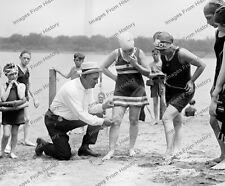 8x10 Print Washington DC Police Measuring Bathing Suits 1922 #0662U