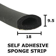 SPUGNA D gomma autoadesivo estrusione 18 mm x 9.5 mm