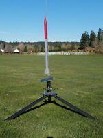 "Steel high-power Model Rocket Launch Pad 72"" Estes Set"