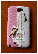 DIY Handmade Cloth Art Phone Case for Samsung Galaxy S2 T-Mobile Skyrocket Note