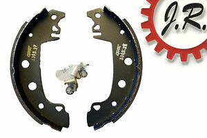 SHU55 Rear Brake Shoes for Citroen C15 (Front), Fiat, Peugeot Alpine, Renault 18