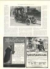 1905 A nuova cabina a motore per le strade di Londra