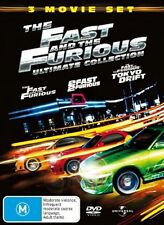 Fast And The Furious (DVD, 2006, 3-Disc) R-2,4, LIKE NEW, FREE POST AUS-WIDE
