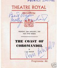 More details for theatre programme signed by peggy ashcroft, eric porter