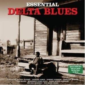 Essential Delta Blues - 50 Delta Blues Classics 2CD 2009 NEW/SEALED
