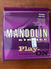 PLAY-ON Mandolin Strings Stainless Steel Medium #PO-M