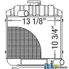Radiator 15553 72060 Fits Kubota B6100 B7100