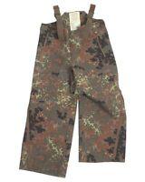 Genuine German Army Issue Goretex Flecktarn Flactarn Bib And Brace Trousers