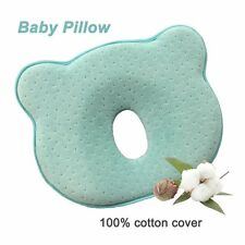 SMELOV Soft Memory Foam Baby Head Positioner Pillow,Prevent Flat Head for 0 1