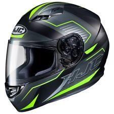 NEW HJC Helm CS-15 Trion schwarz neon gelb matt Gr. XXL = 63/64 Motorradhelm