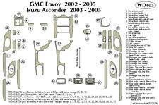 GMC ENVOY 2002 2003 2004 2005 DASH TRIM KIT b