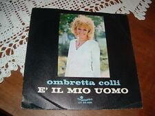 """OMBRETTA COLLI -GIORGIO GABER """" IL SAPORE DELLA VITA IN DUE """"   ITALY'70"""