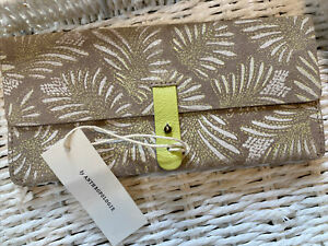 anthropologie leather wallet