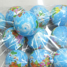 Earth Globe Foam Ball World Map Stress Relief Atlas Palm Planet Play Toy Study