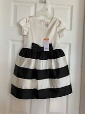 New Gymboree Girls 4 Enchanted Striped Satin Dressy Dress Special Occasion