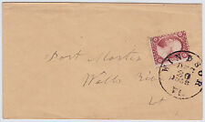"#26A-3 Cents 1857, 42L10i, ""WINDSOR/DEC/20/1858/Vt."" CDS to Wells River Vt."
