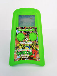 1990 Konami Teenage Mutant Ninja Turtles II Splinter Speaks Handheld Game WORKS!