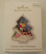 Hallmark 2012 Cookie Cutter Christmas #1 First Series Baking Christmas Ornament