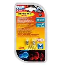 Lampada Hyper-Led 2 12V 1 SMD x 2 chips BA7s 2PZ D/Blister Bianco COD.58474