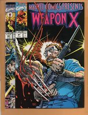 Marvel Comics Presents #81 & 82 Wolverine Weapon X VF+