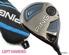 PING G SERIES 7 WOOD 20.5º GRAPHITE SOFT REGULAR FLEX +COVER - LH - NEW #D6060