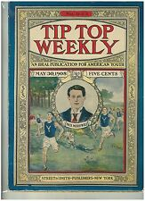 1900s Issue Tip Top Weekly 5 Cent Novel  Yale Runners Cover #633