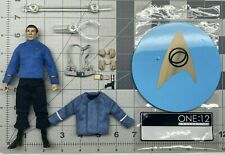 """1/12 scale Mezco One:12 collective 6"""" figure series Star Trek Spock the Cage Ver"""