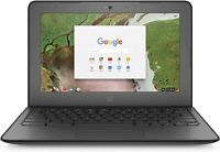 "REFURBISHED 11.6"" HP CHROMEBOOK G4 WITH CHROME OS WEBCAM HDMI NOTEBOOK"