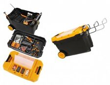 Mobile Werkzeugbox Werkzeug Kiste Werkstatt Koffer Kasten Trolley Transportbox