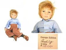 Limitierte Künstlerpuppe Junge - Bub von Pamela Erff - Größe sitzend ca. 54 cm