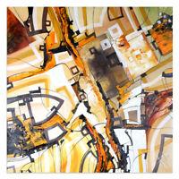 UNIKAT Moderne Kunst Malerei Abstrakt Öl Auf Leinwand Xxl Bild Bozena Ossowski