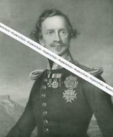 König Ludwig I - Bayern - nach einem Gemälde -    W 27-11