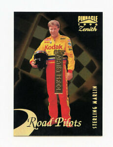 Sterling Marlin 1996 Zenith 24KT Gold Artist Proof Parallel Card AP #3 Pinnacle