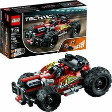 LEGO Technic BASH 139Pc Building Kit Car Pull Back Motor Heavy Duty Front Bumper