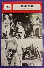US Irish Movie Director John Ford (Period 1917-1928) French Film Trade Card