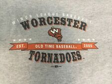 Worcester Tornadoes former minor league baseball team T-Shirt M