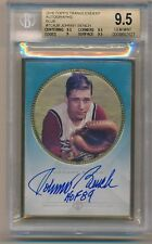 JOHNNY BENCH 2016 Topps Transcendent AUTO BLUE /25 HOF Inscribed BGS 9.5 REDS