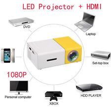 DLP Home Cinema Projectors Full HD Mini Smart Projector LED Theater 1080P UK