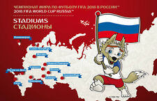 Russia 2017. FIFA 2018 World Cup Russia. Stadiums, booklet