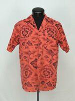 VTG Made Hawaii Hawaiian Shirt Aloha Aikane Fashion Island Hibiscus Tropical USA