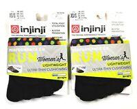 Injinji Toe Socks 2-Pack No Show Lightweight Performance 2.0 Run XS/S Women's