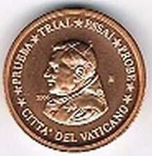 Vaticaan 2006 (Gr) probe-pattern-essai - 1 eurocent - Paus Benedictus XVI