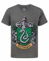 Harry Potter Slytherin Crest Boy's T-Shirt