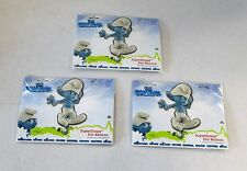 Paquete De 3 los pitufos super forma Helio Foil Balloons-Pitufo Fiesta Globo