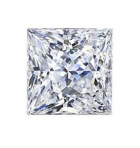 3.2mm VS CLARITY PRINCESS-FACET NATURAL AFRICAN DIAMOND (G/I COLOUR)