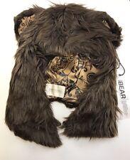 Spirit hoods Brown Bear Half Hood Spirit Hood NEW OSFA