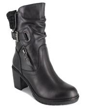 NIB ZIGI SOHO Fashion Black Calf Leather Boots $130.00
