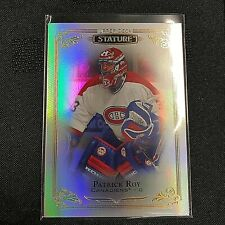 2019-20 Upper Deck Stature #76 Patrick Roy  Montreal Canadiens