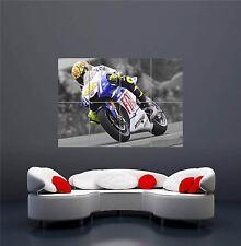VALENTINO ROSSI MOTO MOTORBIKE BIKE RACING GIANT NEW ART PRINT POSTER OZ984