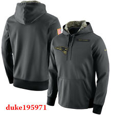 Nike 3XL New England Patriots 2016 Salute to Service Hoodie NFL STS New Mens 3XL